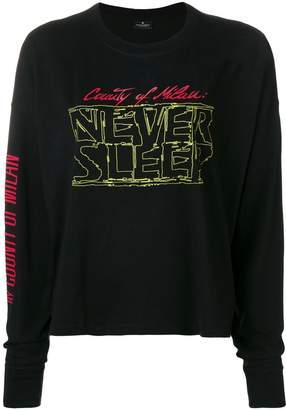 Marcelo Burlon County of Milan Neversleep long-sleeve T-shirt