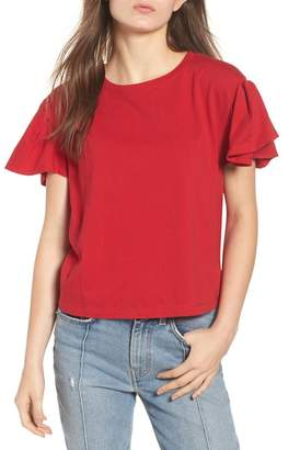 BP Ruffle Sleeve Tee