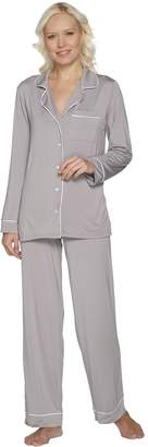 Barefoot Dreams Luxe Milk Jersey Piped Pajama Set