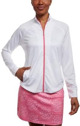Women's Pebble Beach Heather Zip-Up Golf Jacket