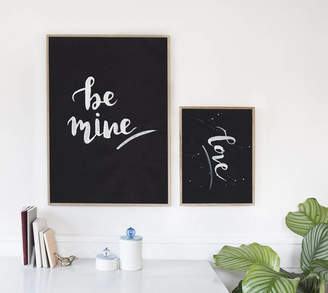 More Than Words 'Be Mine' Print