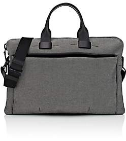 Troubadour Men's Slim Briefcase-Gray