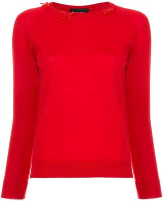 Simone Rocha bow detail sweater