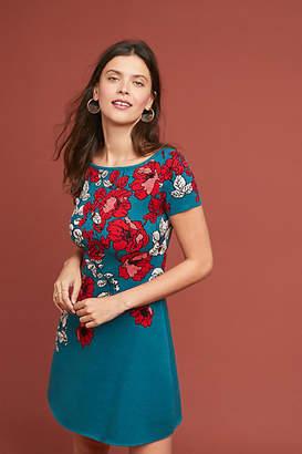 Maeve Allison Floral Sweater Dress