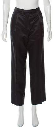 Armani Collezioni High-Rise Wide Leg Pants