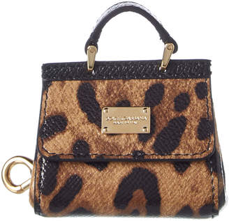 Dolce & Gabbana Sicily Leather Key Ring