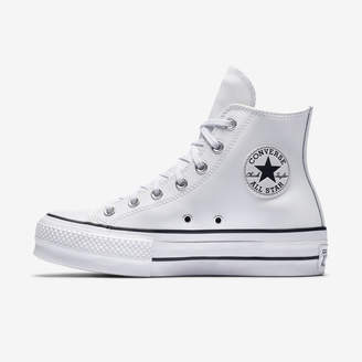 Nike Converse Chuck Taylor All Star Lift Clean Leather High Top Womens Shoe