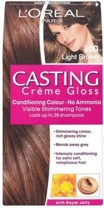 L'Oreal Casting Creme Gloss 600 Light Brown Semi Permanent Hair Dye