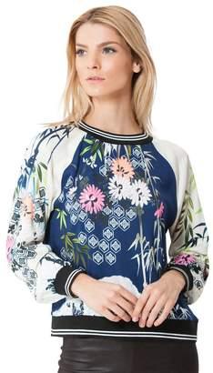 Hale Bob Vania Satin Sweater
