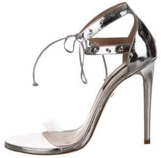Ruthie Davis Leather Ankle Strap Sandals