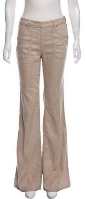 Marc by Marc Jacobs Mid-Rise Linen Pants