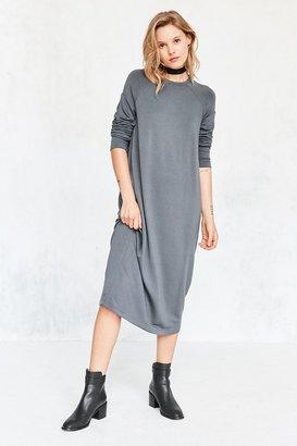 Silence + Noise Mason Midi Sweatshirt Dress $79 thestylecure.com