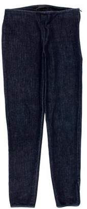 The Row Cropped Skinny Jeans