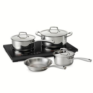 Tramontina 8 Pc Double-Hot Induction Cooking System