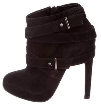 Carvela Suede Platform Ankle Boots