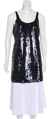 Juicy Couture Sequined Sleeveless Top