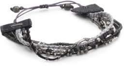 Chan Luu Gunmetal Mix Adjustable Bracelet