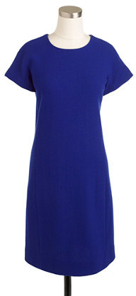 J.Crew Double-faced wool crepe dress