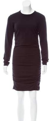 Michael Kors Ruched Sweater Dress