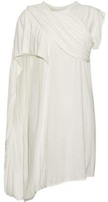 Rick Owens Lilies Asymmetric Draped Jersey Top