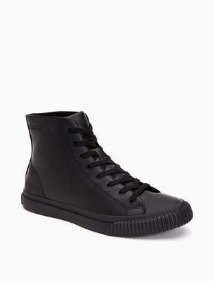 Calvin Klein icaro high top leather sneaker