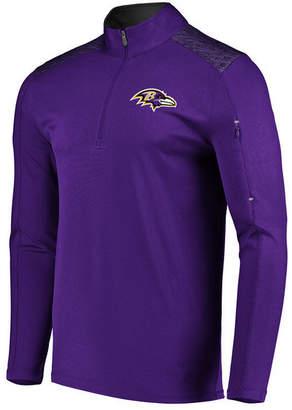 Vf Licensed Sports Group Men's Baltimore Ravens Ultra Streak Half-Zip Pullover