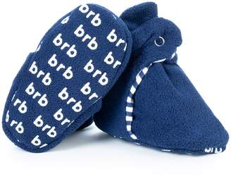 Fleece Baby BirdRock Baby Booties - Organic Cotton & Non Skid Gripper Bottoms - Cozy Boys & Girls Bootie - Stay On Better Than Infant, Newborn, or Toddler Socks! (US 5.5, )
