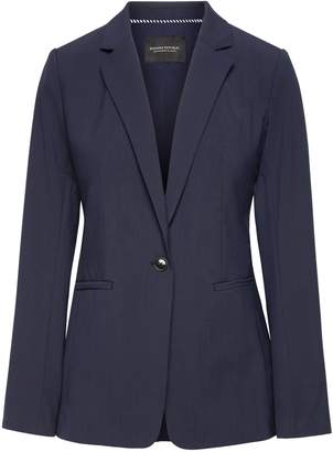 Banana Republic Boyfriend-Fit Machine-Washable Italian Wool Blend Blazer