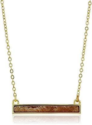 French Connection Semi Bar Pendant Necklace