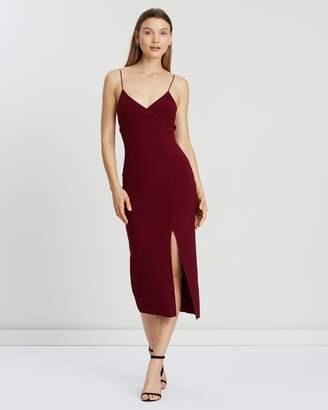 Bec & Bridge Lea Split Midi Dress
