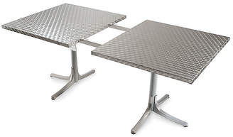 Design Within Reach Inox Table, Extendable, Silver