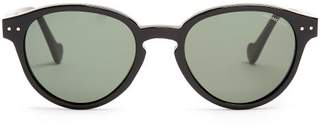 Moncler Round-frame acetate sunglasses