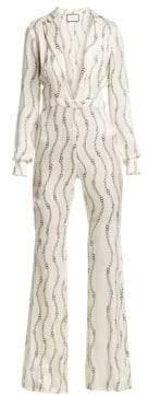 Alexis Women's Danai Jumpsuit - Cream Rolo - Size Medium