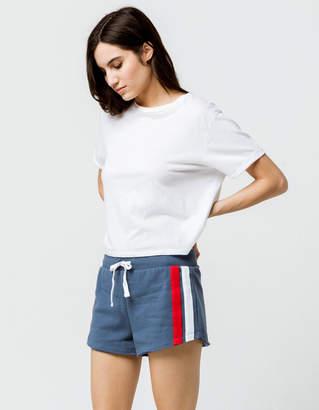 Full Tilt Stripe Womens Sweat Shorts