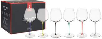 Riedel Fatto A Mano Old World Pinot Noir Glasses (Set of 6)