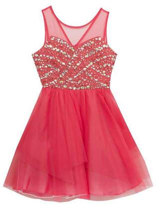 Rare Editions Jewel Coral Dress $130 thestylecure.com