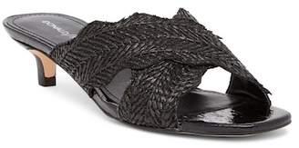 Donald J Pliner Elly Woven Crisscross Slide Sandal