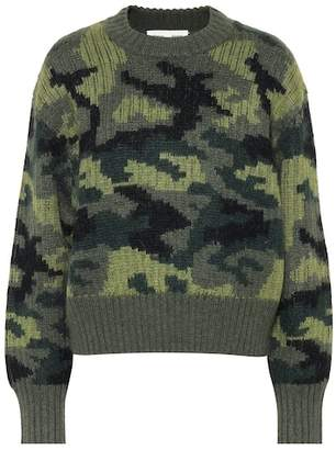 Proenza Schouler PSWL camouflage wool-blend sweater