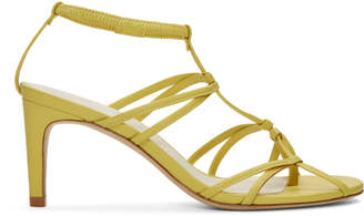 Tibi Yellow Gavin Sandals