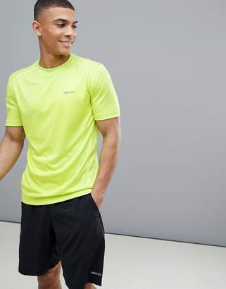 Marmot Active Windridge SS Running T-Shirt in Bright Lime
