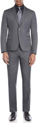 Pierre Balmain Two-Piece Grey Wool Suit