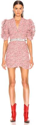 Isabel Marant Andor Dress in Pink | FWRD