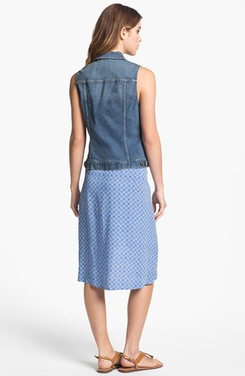 Vince Camuto Two by Cutout Faux Wrap Dress