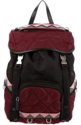 Prada Quilted Tessuto Impuntu Backpack