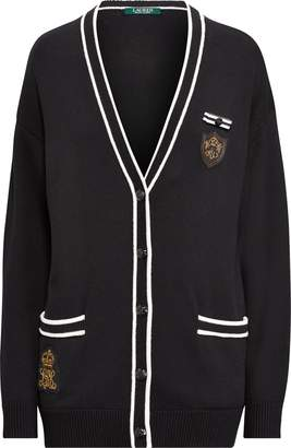Ralph Lauren Bullion-Patch Cardigan