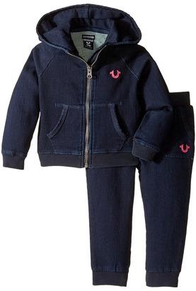True Religion Kids Indigo French Terry Hoodie Set (Infant/Toddler) $79 thestylecure.com