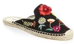 Soludos Floral Canvas Mules