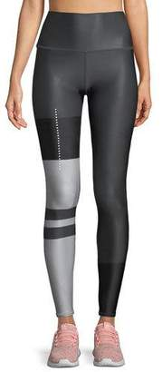 Alo Yoga High-Waist Tech-Lift Airbrush Full-Length Leggings