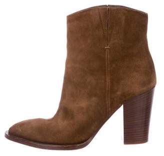 Vince Suede Pointed-Toe Boots