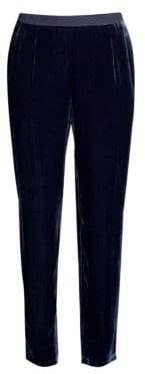 Eileen Fisher Slouchy Velvet Ankle Pants